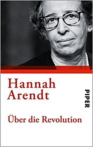 Buchcover Hannah Arendt: Über die Revolution