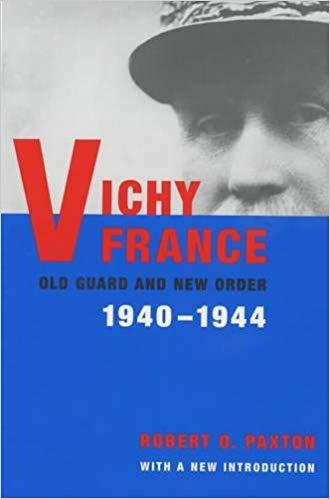 Buchcover Robert Paxton Vichy France